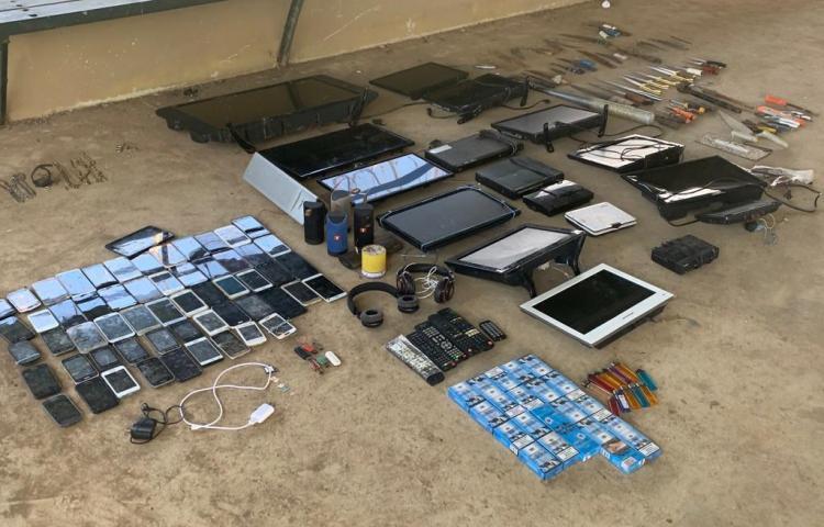 Policía Nacional y Sistema Penitenciario realizan operativo en La Joya
