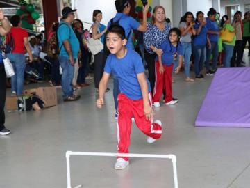 Los Juegos Adaptados se hacen sentir en el Parque Omar