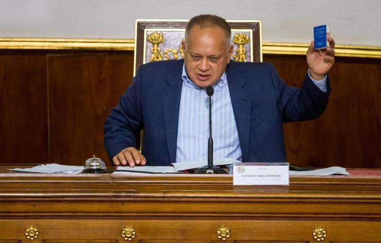Cabello dice Latinoamérica va
