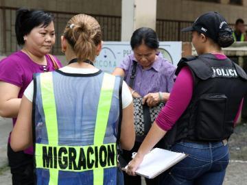 Unas 374 foráneos fueron sacados del país en septiembre