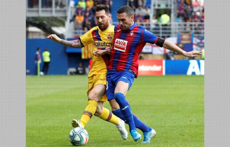 Barcelona corta la racha del Eibar con goleada