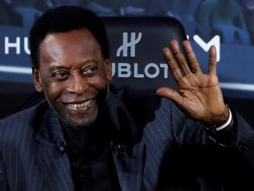 Santos y Neymar felicitan a Pelé por su 79 cumpleaños