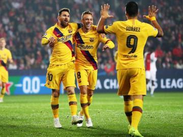 Barcelona ganó y sigue arriba