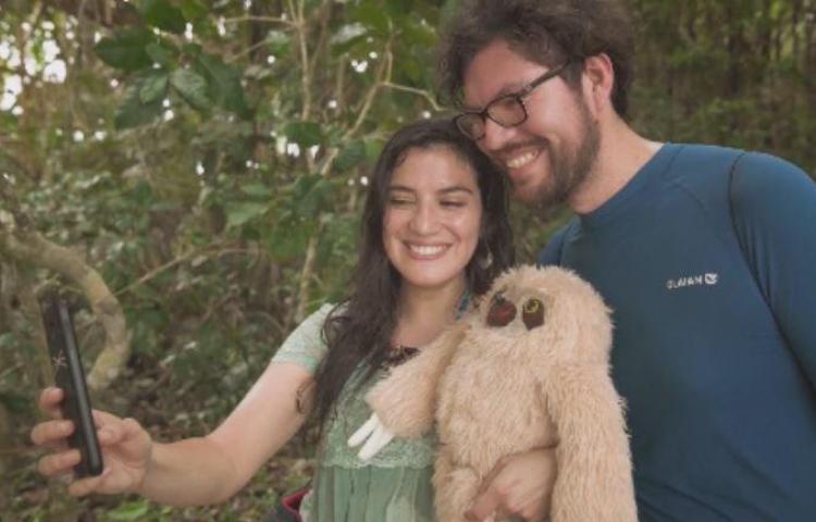 Costa Rica busca combatir las selfis que afectan a los animales silvestres