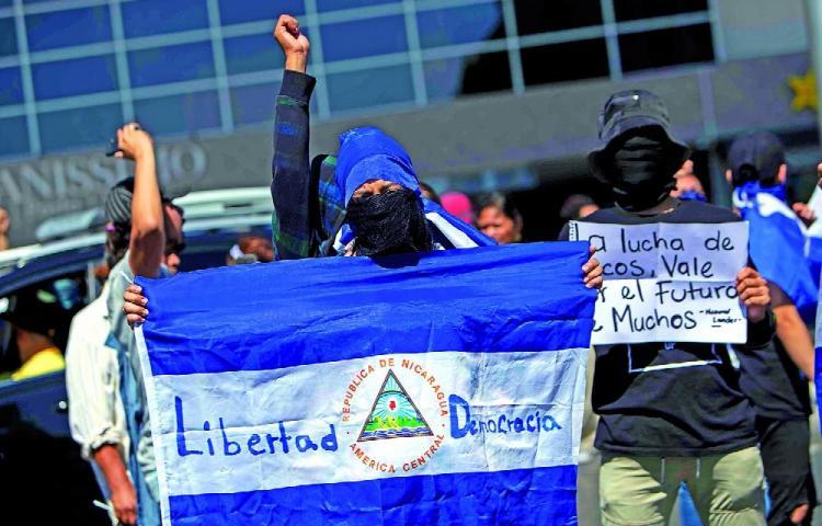 Ortega sigue con la represión