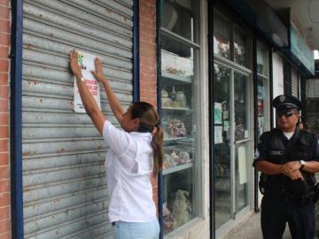 Por insalubre cierran temporalmente local en San Miguelito