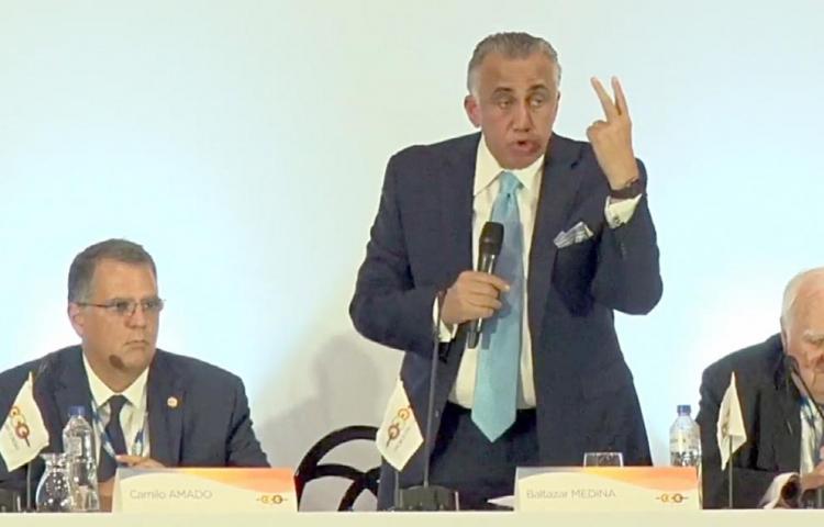 Dominicano Luis Mejía Oviedo presidirá la ODECABE hasta 2023