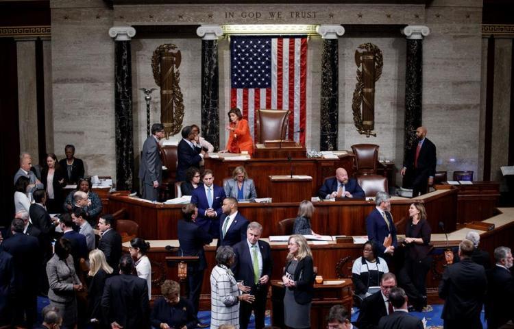 La Casa Blanca, preparada ante un probable juicio político a Trump