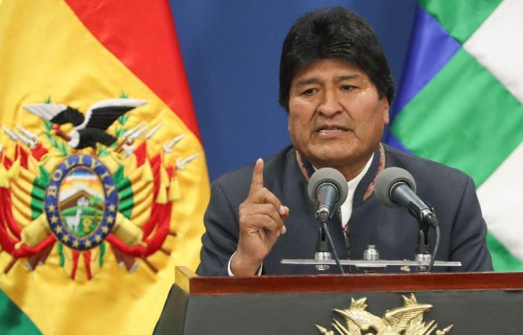 Evo Morales espera informe de la OEA