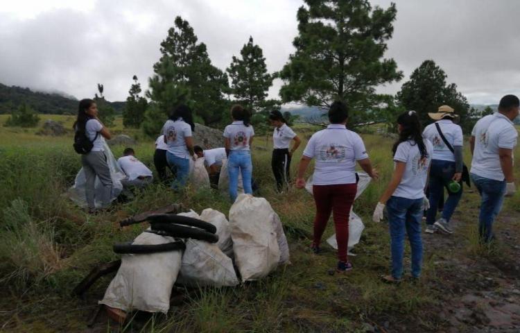 Contaminación en el Parque Nacional Volcán Barú