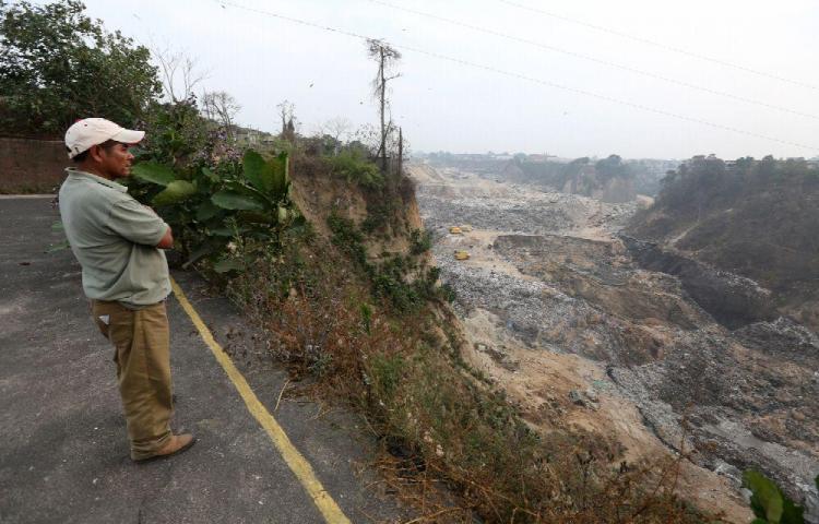 Guatemala declaró estado de calamidad por derrumbes