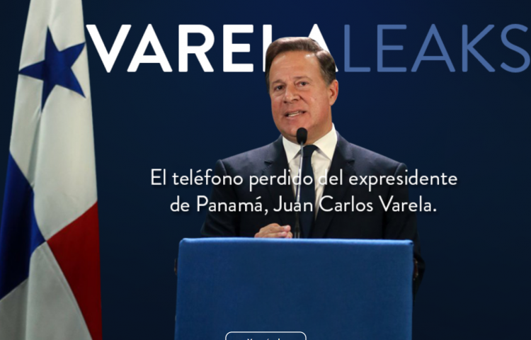 Publican supuestos chats del expresidente Varela, durante su mandato
