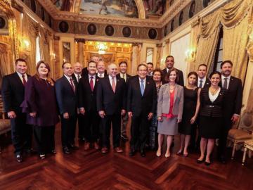 Seguridad e inversiones forman parte de la agenda de Cortizo con congresistas de EE.UU.