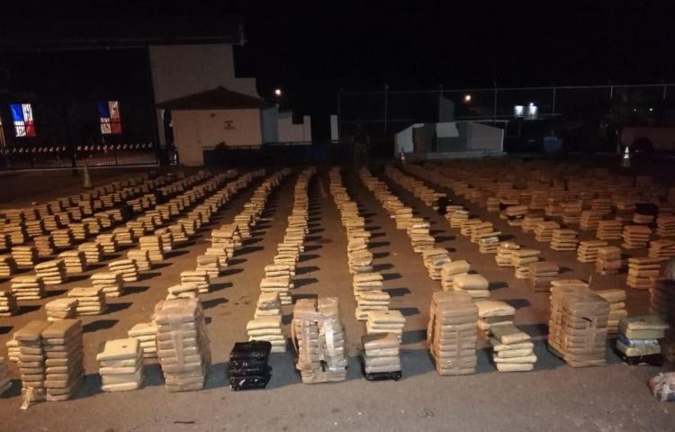 Senan incauta 2 mil 488 paquetes de droga en Pedasí