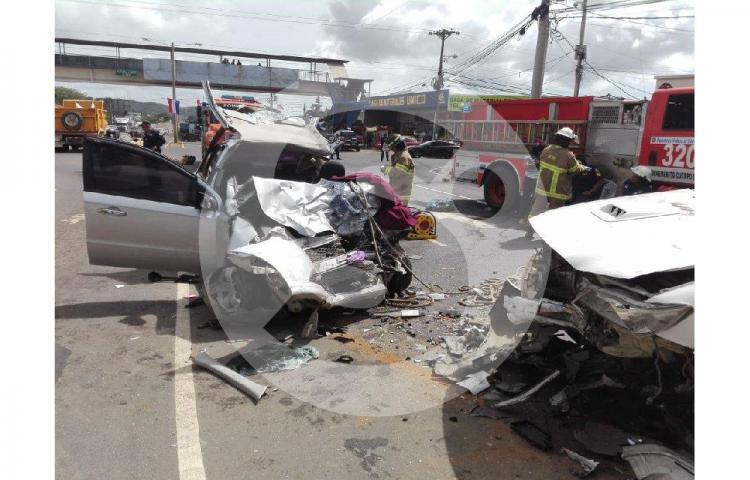 Joven lucha entre la vida y la muerte tras accidente en aguadulce