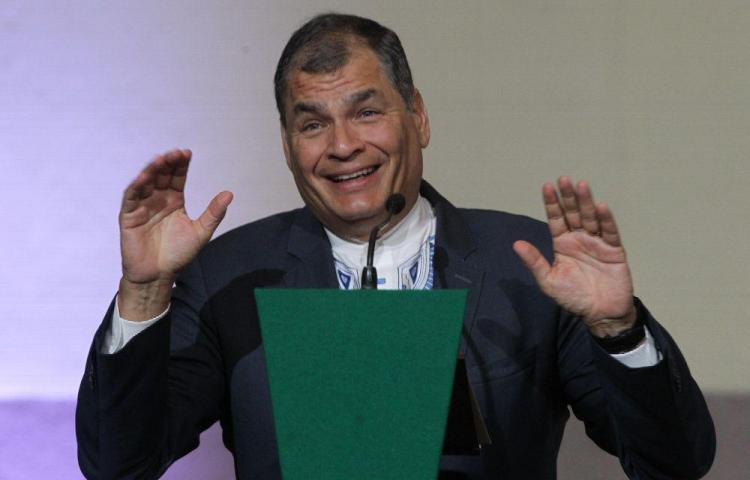 Corte ratifica prisión preventiva para Rafael Correa