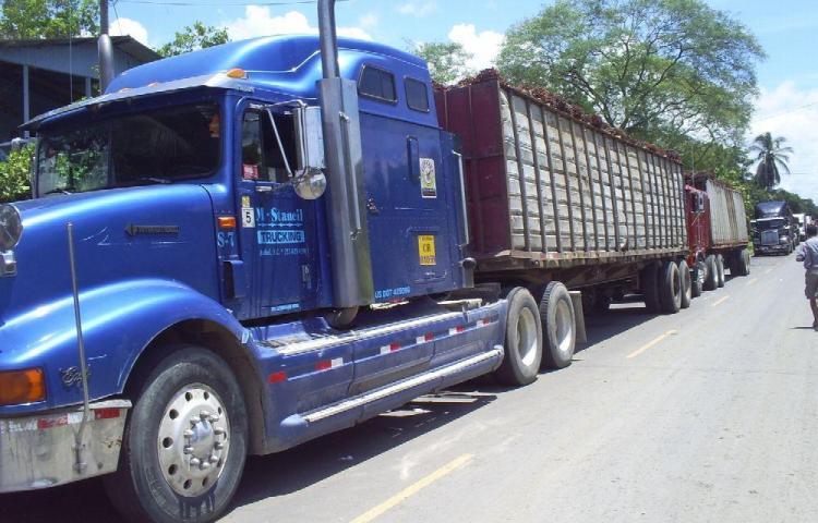 ATTT limita permisos a carga con sobredimensión
