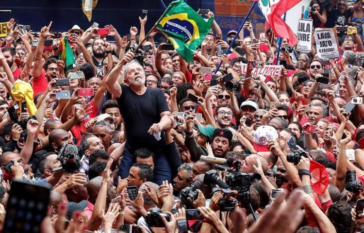 La excarcelación de Lula aumenta la polarización en Brasil