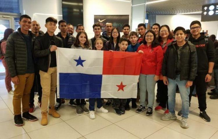 Panamá está presente en la Olimpiada Mundial de Robótica