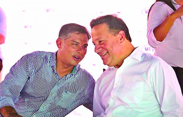 'Esos PRD dan risa', le dijo Varela a Beby V., según Varelaleaks.com