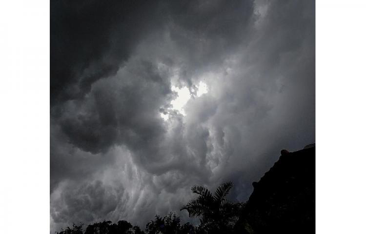 Así está el cielo en Panamá Este