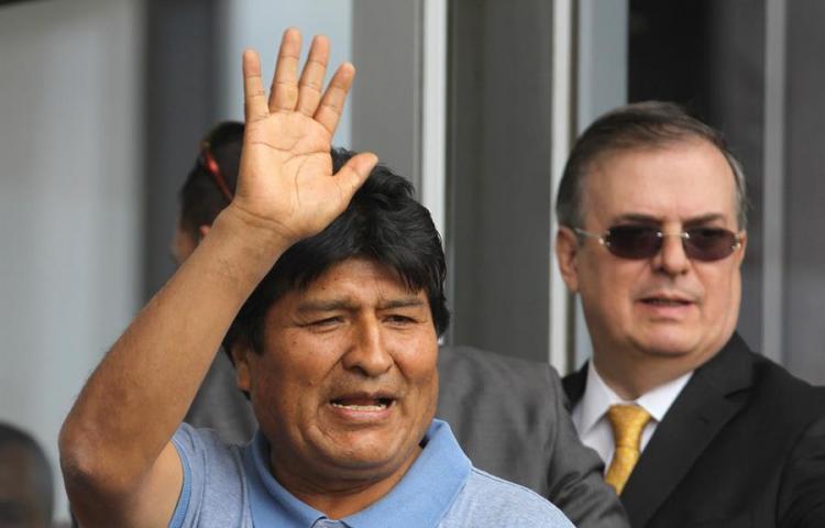 """Parlatino: hechos que llevaron a renuncia de Morales configuran un """"golpe"""""""