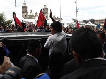 Morales pide a la ONU, al Papa y a países amigos de Europa mediar en Bolivia