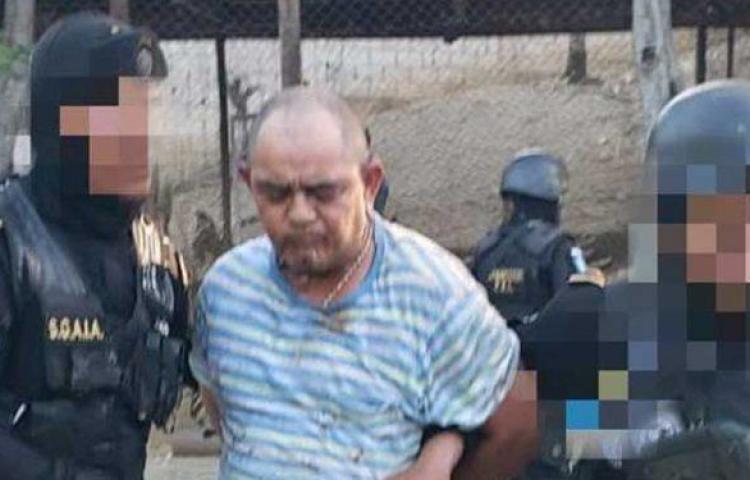 Arrestan en Guatemala a narcotraficante Haroldo Lorenzana, requerido por EEUU