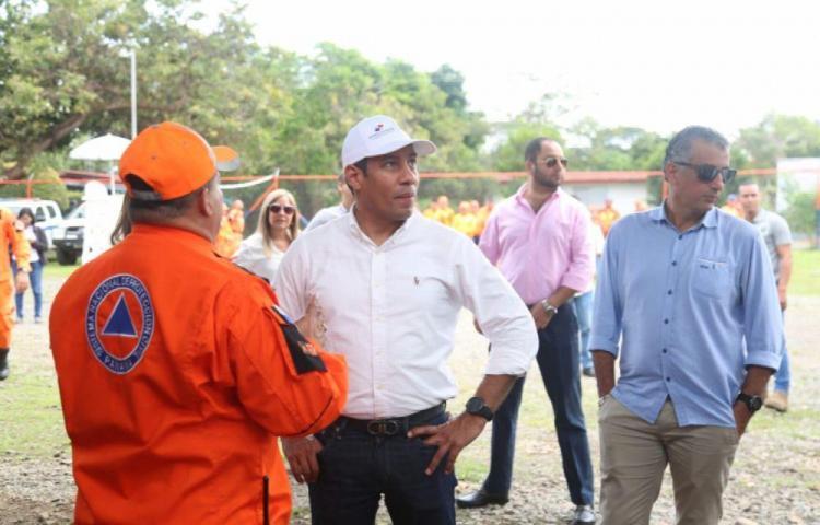 Plantean necesidades al ministro de Gobierno en Chiriquí