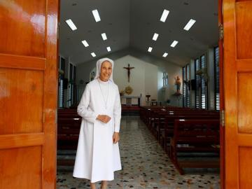 La prima monja del papa Francisco que será su traductora en Tailandia