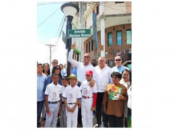 Le ponen a calle en La Chorrera el nombre Mariano Rivera
