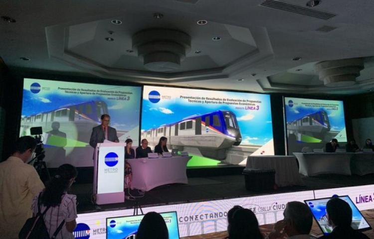 Consorcio coreano construirá la Línea 3 del Metro
