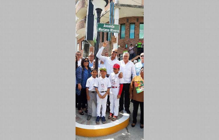 Mariano Rivera ya tiene su avenida en el distrito de La Chorrera