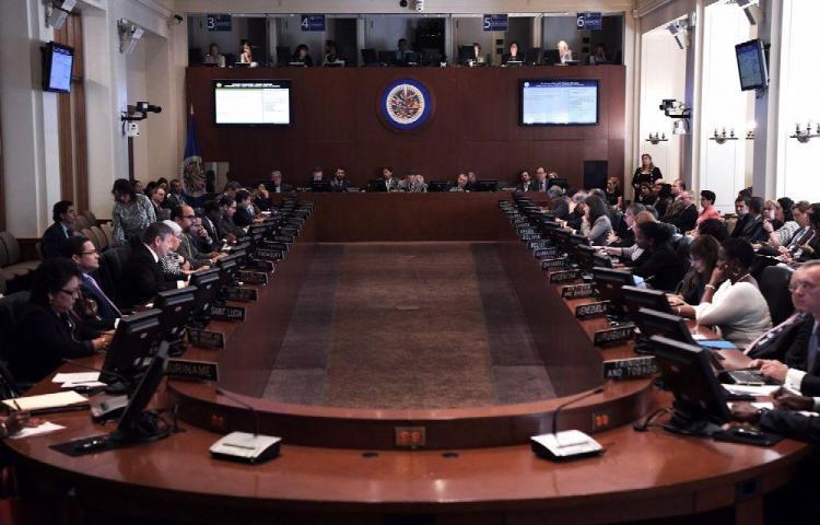 Nicaragua al borde de ser suspendido en la OEA