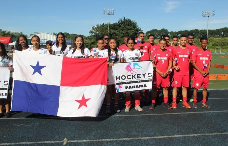 Panamá inició su andar en el Centroamericano de hockey