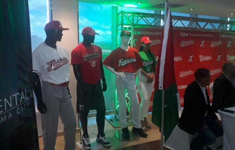 Presentan a los Federales de Chiriquí, la nueva franquicia de béisbol