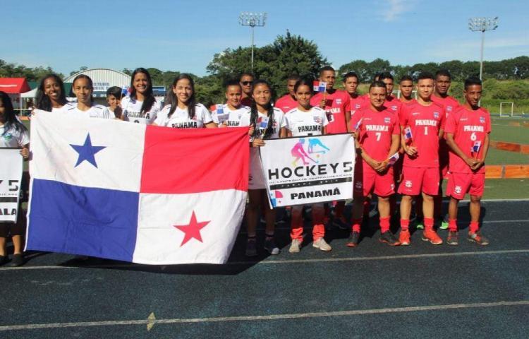 Panamá inició con todo en el hockey