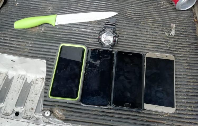Aprehenden a tres en Veranillo tras presunto robo