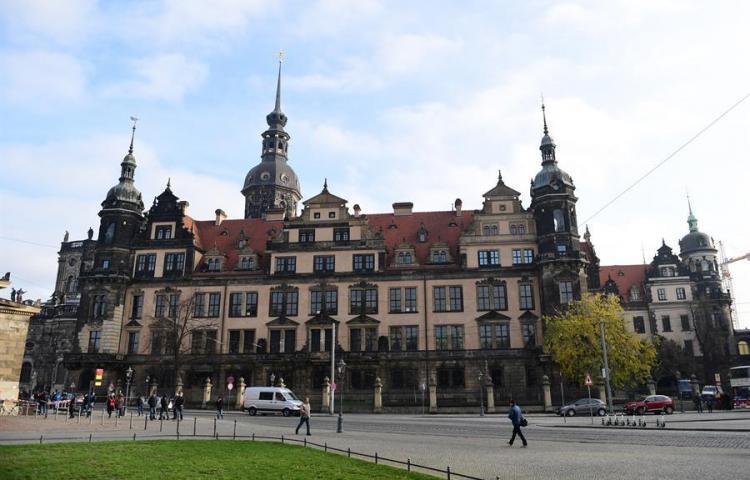 Roban millones de la Bóveda Verde, la cámara del tesoro de un palacio alemán