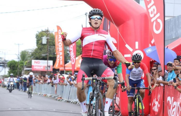 Peruano Gamero se llevó la quinta etapa