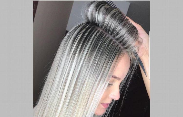 Cuidado para un cabello gris