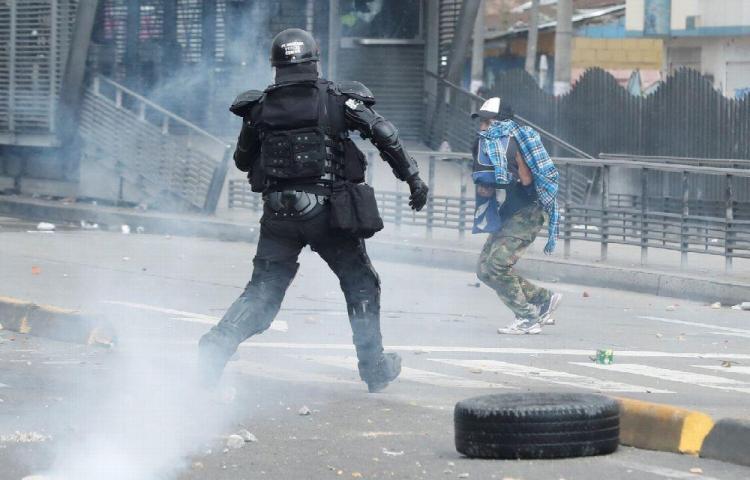 ¿Cuba y Venezuela detrás de protestas en Colombia?