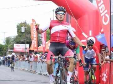 Alonso Gamerose adjudicó la quinta etapa de la Vuelta a Chiriquí