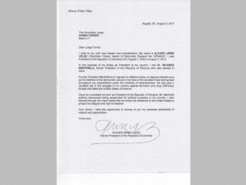 Empresario colombiano aconsejaba a Varela