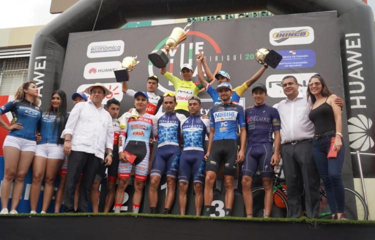 Archibold, campeón de la Vuelta a Chiriquí 2019