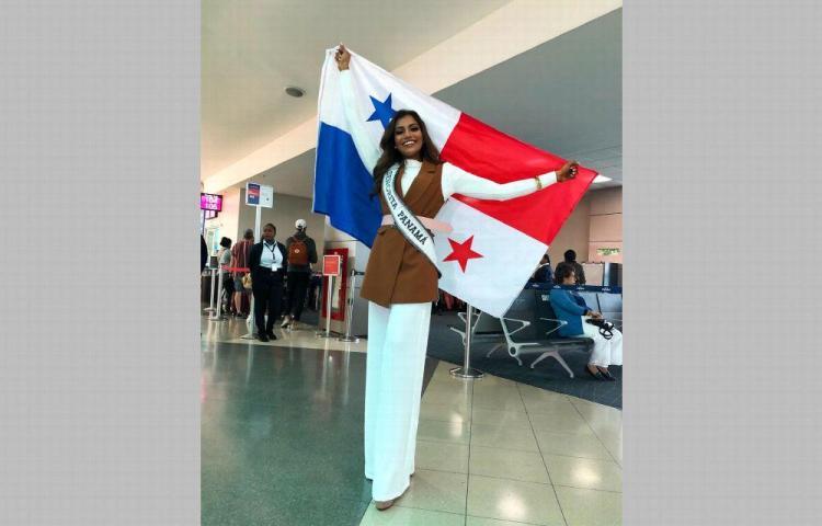 'Conmigo llevo la bandera más hermosa del mundo'