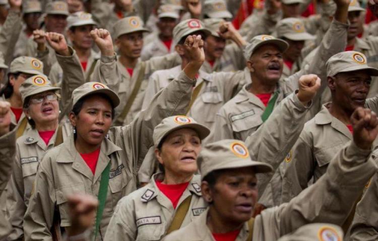Maduro desplegó a casi siete mil milicianos