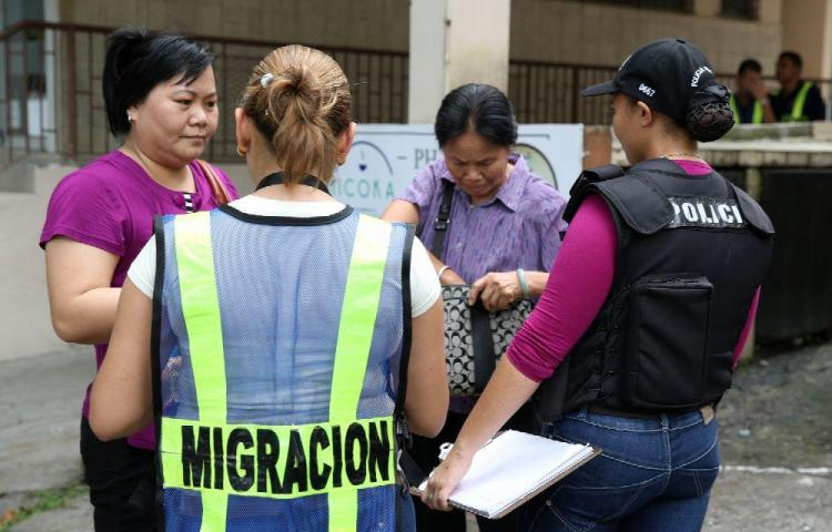 Más de trece mil extranjeros multados
