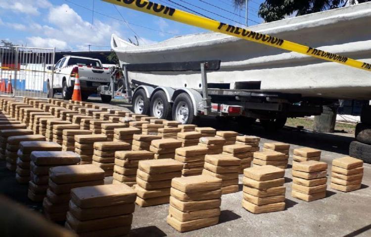 Caen tres colombianos con droga en Punta Burica