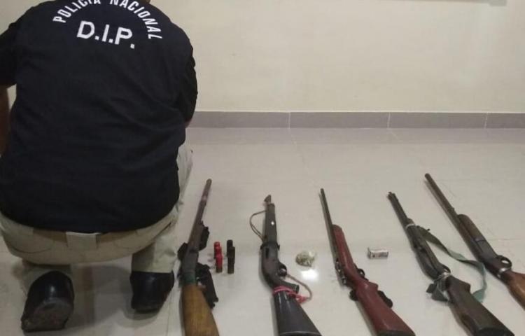 Alrededor de 400 armas fuera de las calles este 2019